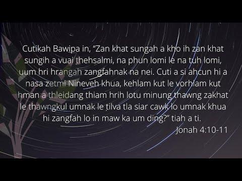 DEVOTION NI (37) NAK  PATHIAN CUN MI A NGAI POIMAWH TUK
