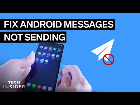 Why Won't Text Messages Send On My Android?