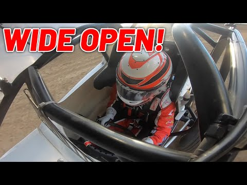 Tanner Holmes 360 Sprint Car WIDE OPEN at Sweetwater Speedway! - dirt track racing video image