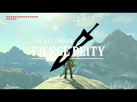 Zelda Breath of the Wild: Fierce Deity vs Gold Lynel vs Hinox - default