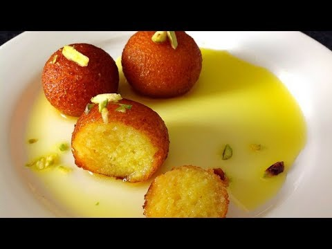Gulab Jamun With Milk Powder   گلاب جامن By (HUMA IN THE KITCHEN)