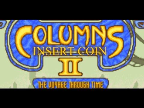 Columns II: The Voyage Through Time (1990) - Arcade - Partida Lamentable