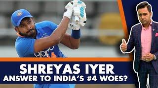 Shreyas IYER - ANSWER to INDIA's #4 woes? | #AakashVani