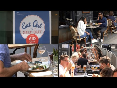 'Eat Out To Help Out' restaurant support scheme begins in UK | AFP