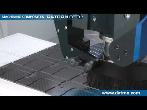 DATRON neo Milling PCB from Composite (CFRP)