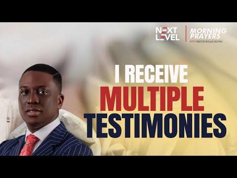 Next Level Prayers  I Receive Multiple Testimonies  Pst Bolaji Idowu  20th September 2021