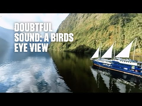 A Birds Eye View in 360 – Doubtful Sound, New Zealand