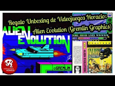 Unboxing y Gameplay de Alien Evolution: (Marco Paulo Carrasco - Rui Manuel Tito) Gremlin Graphics