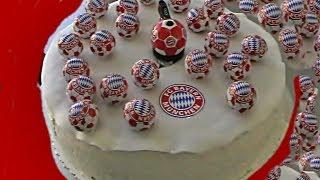 Fc Bayern Fan Artikel Torte Youtube