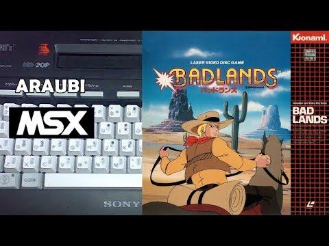 Badlands (Konami, 1984) MSX [712] Walkthrough Comentado