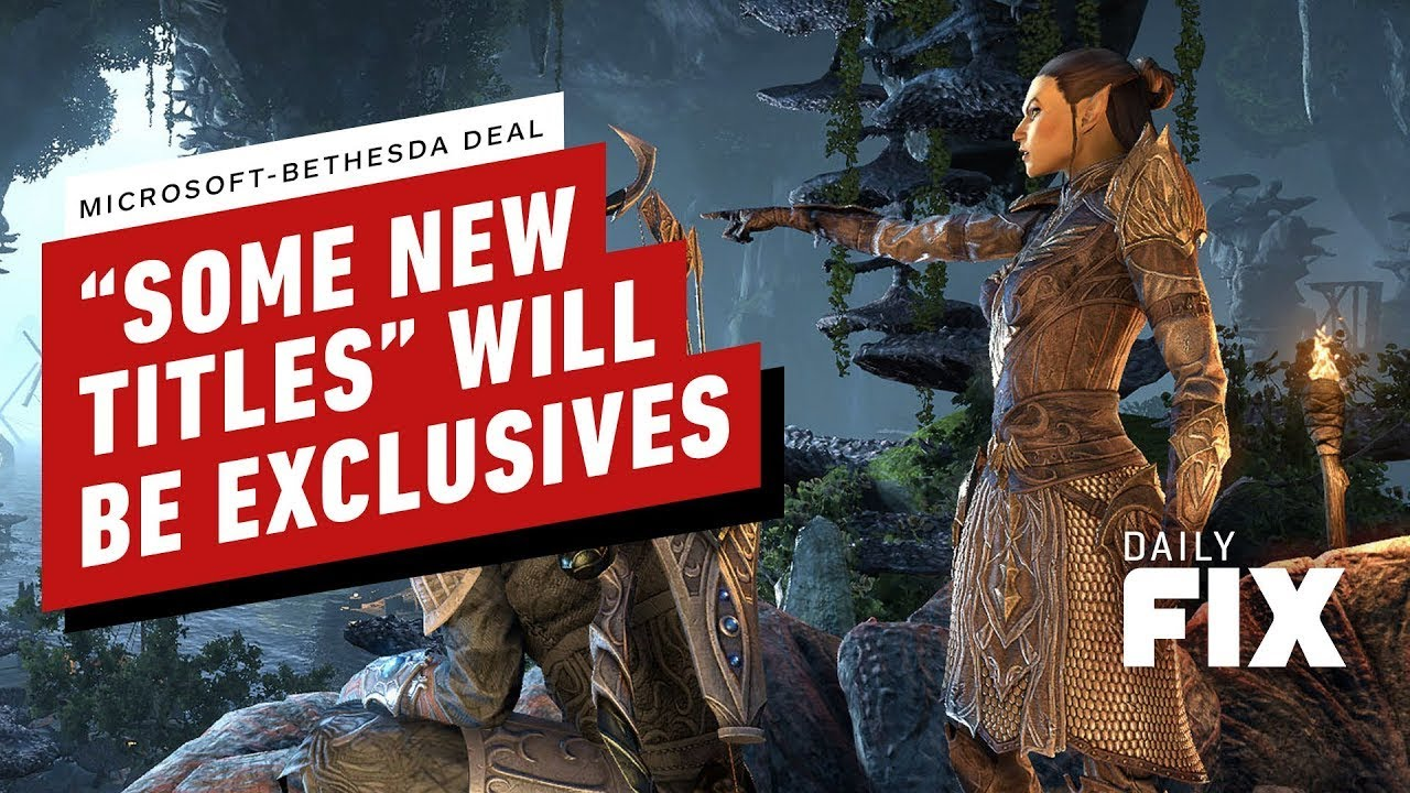 Xbox Head Raises More Questions on Bethesda Exclusives – IGN Daily Fix