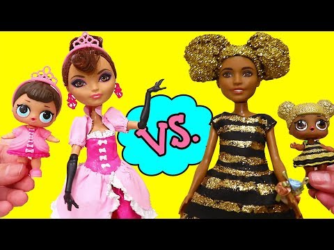 SWTAD LOL Families ! Fancy vs. Queen Bee Moms | Toys and Dolls Fun Pretend Play for Kids - UCGcltwAa9xthAVTMF2ZrRYg