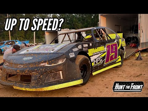 Last Minute Decision to Race! Street Stock Racing at Deep South Speedway - dirt track racing video image