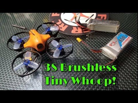 Lanchi Bluebird 85S Brushless Tiny Whoop FPV Fun! - UCNUx9bQyEI0k6CQpo4TaNAw