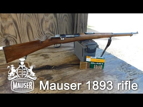 Spanish Mauser M1893 bolt action rifle in 7x57mm review