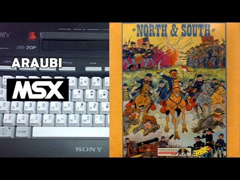 North & South (New Frontier, 1991) MSX [327] Walkthrough