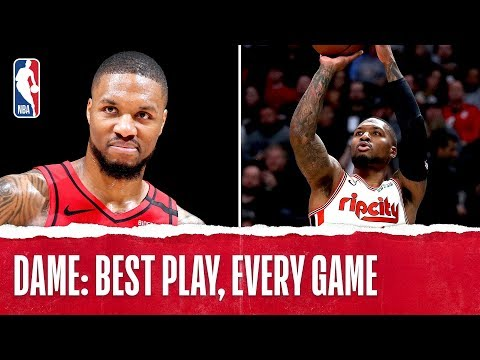 Damian Lillard's Best Plays From Every Game!