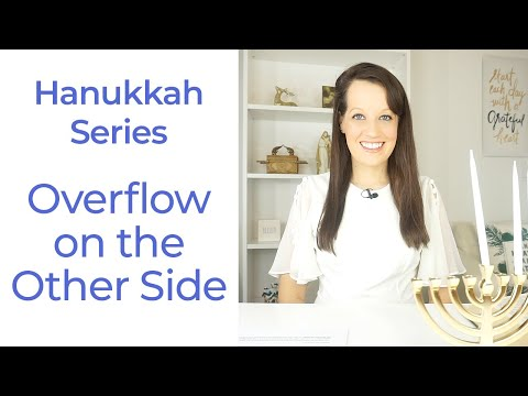Hanukkah Series- Going in the deep to find overflow