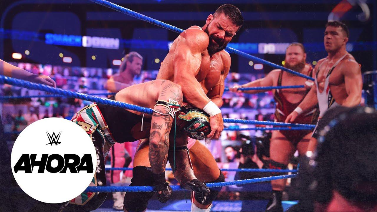 ESTA NOCHE en #SMACKDOWN: WWE Ahora, Abr 9, 2021