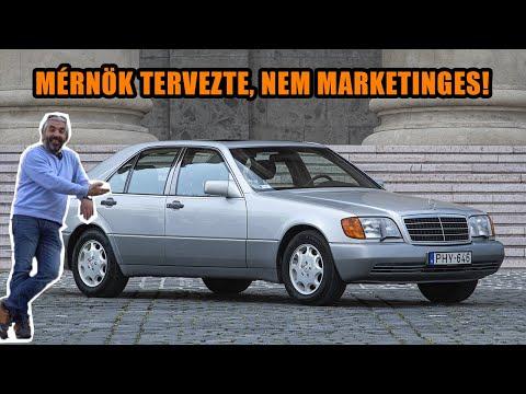 Totalcar teszt: Mercedes-Benz W140 300 SE (1991) – Ebből akár veterán lehet!
