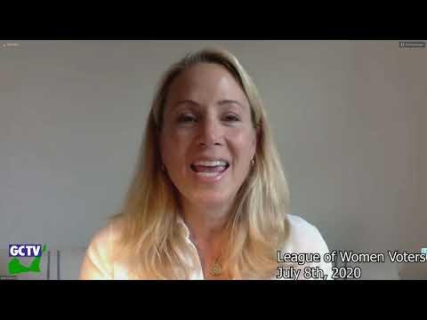 League of Women Voters Conversation with our Legislators, July 8, 2020