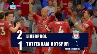 FIFA 19   Liverpool vs Tottenham Hotspur   Premier League Gameplay   - PS4 Pro