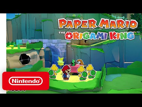 Paper Mario: The Origami King Gameplay - Nintendo Treehouse: Live | July 2020