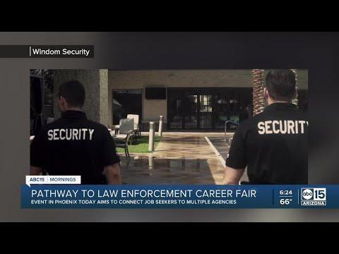 Pathway to law enforcement career fair in Phoenix