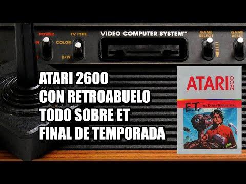 ET ATARI 2600 CON RETROABUELO FIN DE TEMPORADA