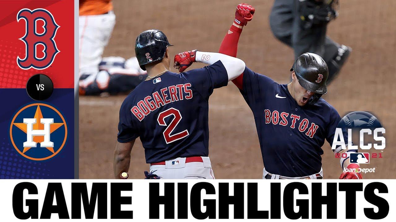Red Sox vs. Astros ALCS Game 2 Highlights (10/16/21) | MLB Highlights