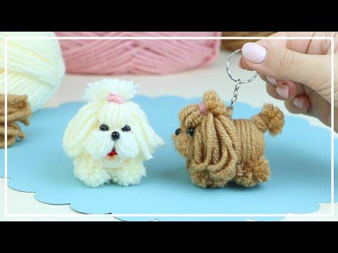 Самая Милая Маленькая Собачка из Ниток — ЛЕГКО! 🐶🧶🐕 The Cutest Dog Easy Making 🌟 DIY NataliDoma