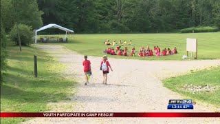Camp Rescue at Erie Humane Society gives children chance to put their passion for animals to work