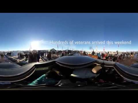 360 Footage of Standing Rock