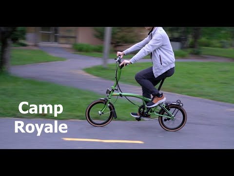 Mobot Camp Royale Folding Bike Review - The Better Brompton Clone