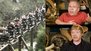 Harry Potter actors describe Hagrid's Magical Creatures Motorbike Adventure