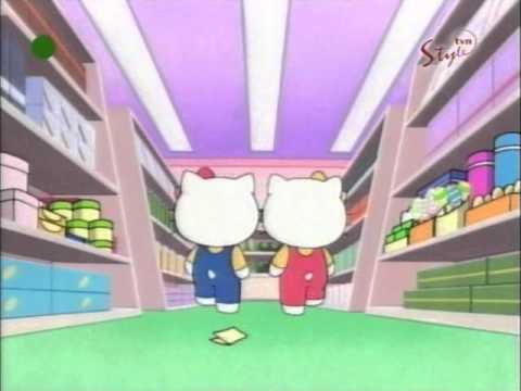 Hello Kitty - odcinek 10 B bajki - Przygoda w supermarkecie PL