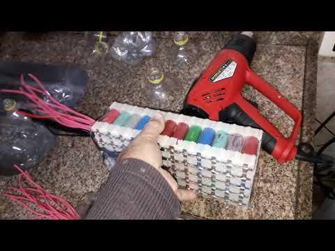 Montagem dos packs das baterias de Lítio - Parte 3