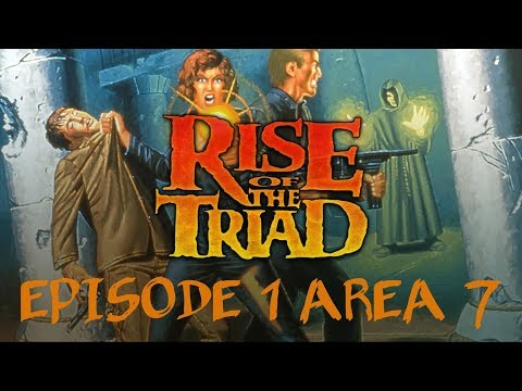 Rise of the Triad (1994) - PC - Episode 1 Area 7 - Comentado en Español