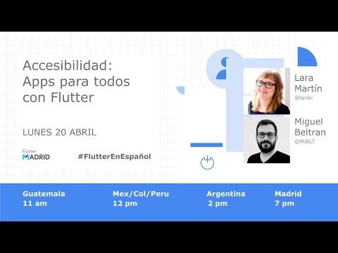 Accesibilidad: Apps para todos con Flutter