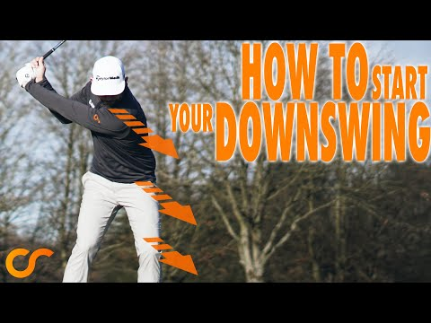 HOW TO START THE DOWNSWING - EASY METHOD