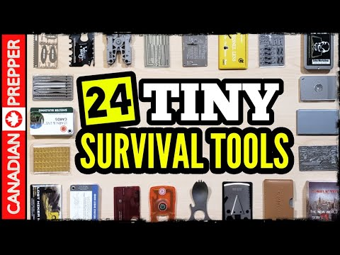 24 Wallet Sized Survival Tools