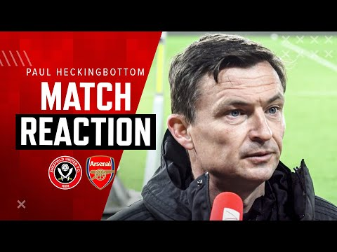 Paul Heckingbottom   Sheffield United 0-3 Arsenal   Match Reaction Interview