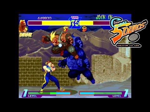 "[BIS] STREET FIGHTER ALPHA: WARRIORS' DREAMS (BIRDIE) - ""CON 5 DUROS"" Episodio 85 (1cc) (CTR)"