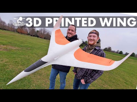 Building & Flying a 3D Printed Flying Wing! | Eclipson EGW80 - UC9zTuyWffK9ckEz1216noAw
