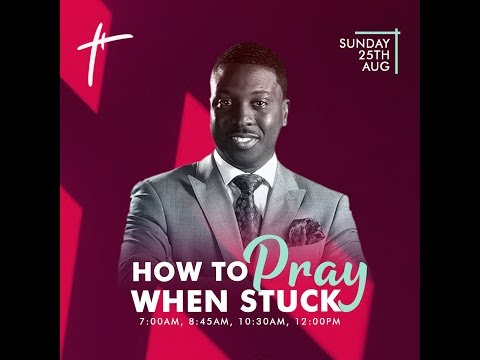 How To Pray When Stuck  Pst Bolaji Idowu  Sun 25th Aug, 2019  2nd Service