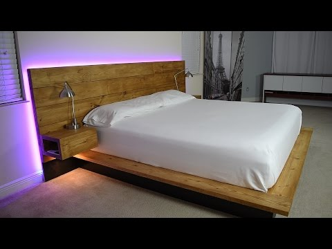 DIY Platform Bed With Floating Night Stands (Plans Available) - default