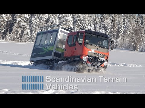 Scandinavian Terrain Vehicles TL6 Svalbard tourist module