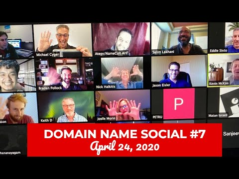 Michael Cyger's Domain Name Quarantine Social #7 (April 24, 2020)
