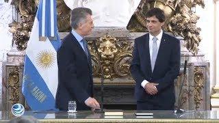 Argentina busca estabilizar el mercado con nuevo ministro de Economía