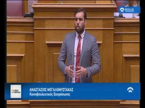 Α. Μεγαλομύστακας / Ολομέλεια Βουλή / 30-11-2016